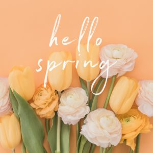 Spring is a fresh start for your goals